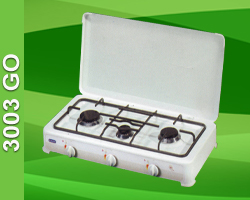 LPG Gas Cooker With 3 Burners